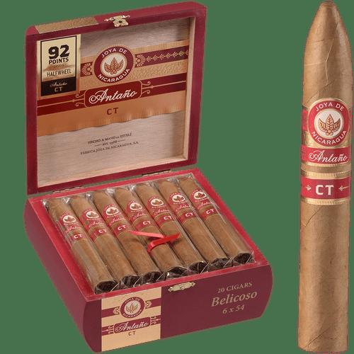 Joya De Nicaragua Cigars Connecticut Belicoso 20 Ct. Box 6.00x54