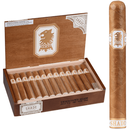 Undercrown Cigars Connecticut Shade Gran Toro 25 Ct. Box 6.00X52