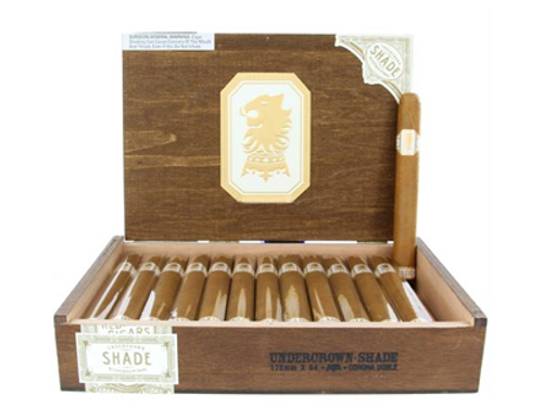 Undercrown Cigars Connecticut Shade Corona Doble 25 Ct. Box 7.00X54