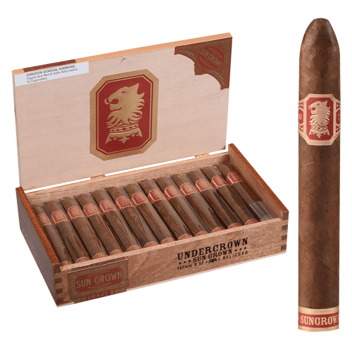 Undercrown Cigars Sun Grown Belicoso 25 Ct. Box 6.00X52