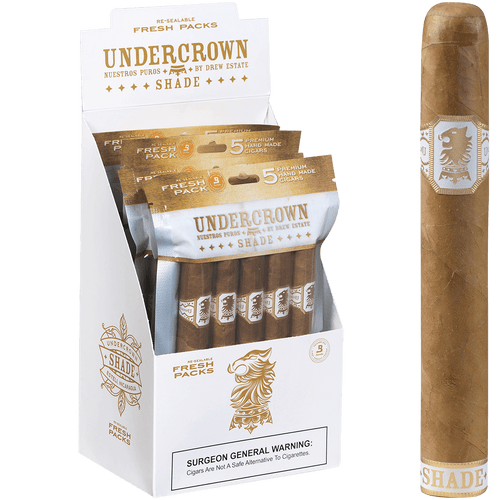 Undercrown CigarsShade Gran Toro Five-packs 5/5 Ct. Box 6.00x52
