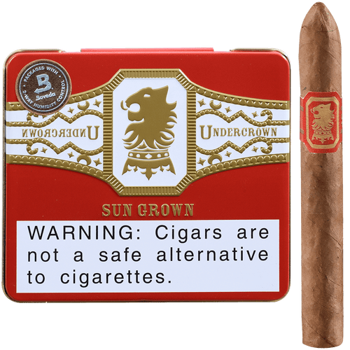 Undercrown Cigars Sungrown Coronets 5/10 Tins 4.00x32
