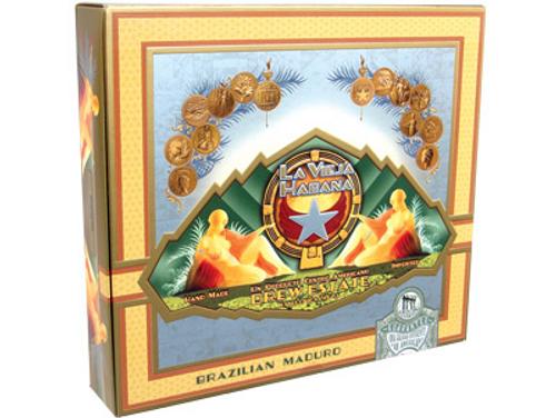 La Vieja Habana Cigars Rothschild Luxo Maduro 20 Ct. Box 5.00X54