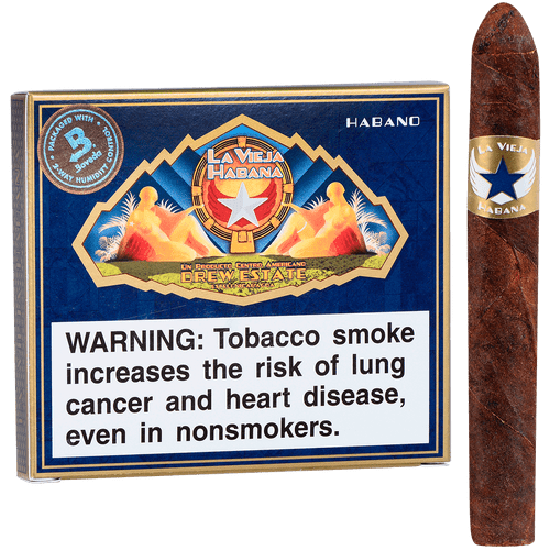 La Vieja Habana Cigars Bomberito Corojo 5/10 Tins 4.00x32