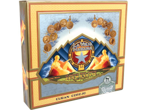 La Vieja Habana Cigars Belicoso 'D' Corojo 20 Ct. Box 6.00X54