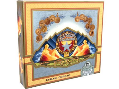 La Vieja Habana Cigars Chateau Corona Corojo 20 Ct. Box 5.50X46