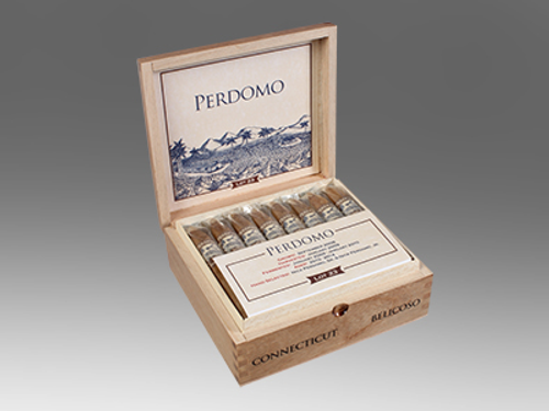 Perdomo Lot 23 Connecticut Cigars Belicoso 24 Ct. Box
