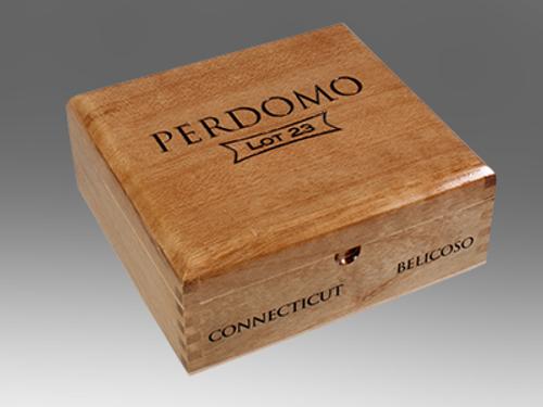 Perdomo Lot 23 Connecticut Cigars Belicoso 24 Ct. Box