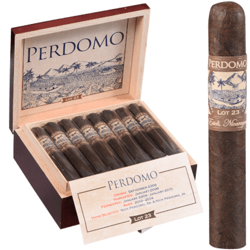 Perdomo Lot 23 Maduro Cigars Robusto 24 Ct. Box