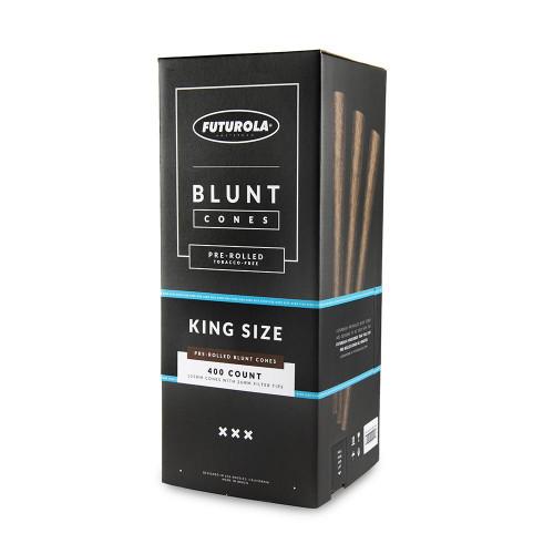 Futurola Cones King Size Blunt Cones - 400ct