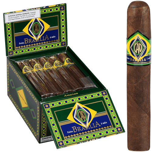 CAO Cigars Brazilia Amazon 20 Ct. Box 6.00X60