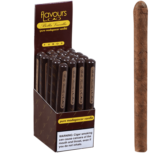 CAO Cigars Flavours Bella Vanilla Tubo 20 Ct. Box 4.75X30
