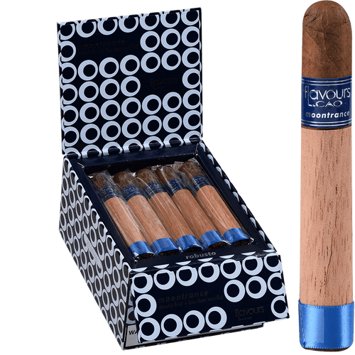 CAO Cigars Flavours Moontrance Robusto 20 Ct. Box 5.00X48