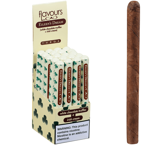 CAO Cigars Flavours Eileen's Dream Tubo 20 Ct. Box 4.75X30