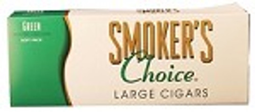 Smokers Choice Filtered Cigars Green