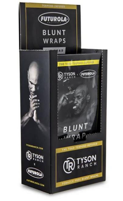 Futurola Tyson Ranch Terpene Infused Blunt Wraps - 25ct