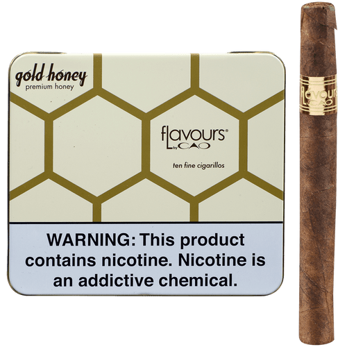 CAO Cigars Flavours Gold Honey Cigarillos 10/10 Tins 4.00X30
