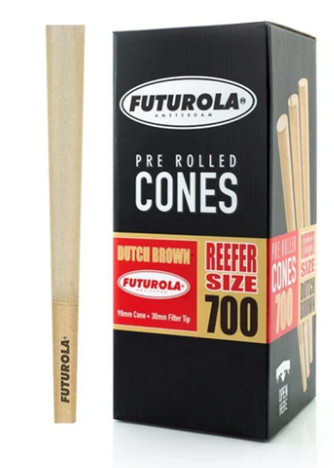 Futurola Cones Reefer Size Dutch Brown 700ct
