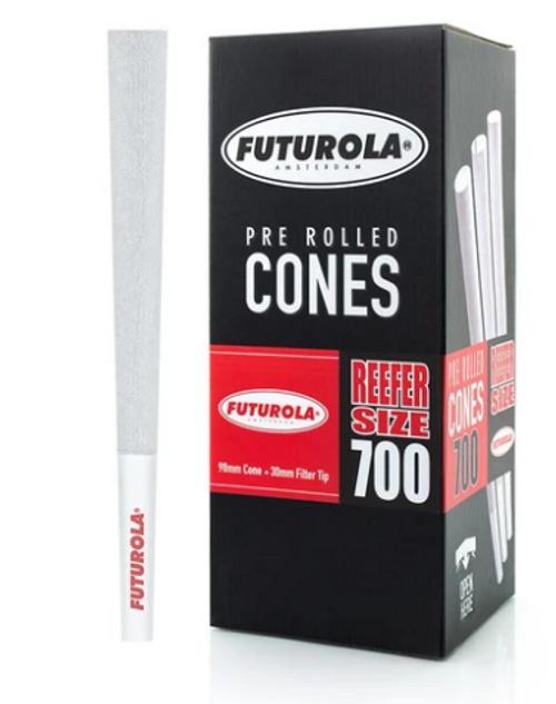 Futurola Cones Reefer Size Classic White 700ct