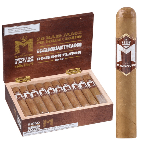 Macanudo Cigars Robusto 20 Ct. Box 5.00x50