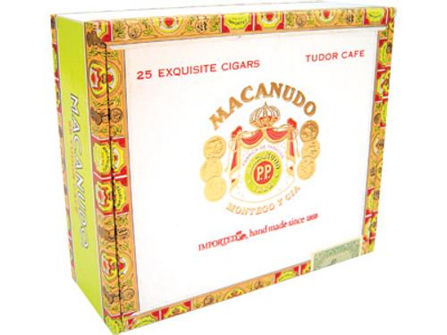 Macanudo Cigars Cafe Tudor 25 Ct. Box 6.00X52