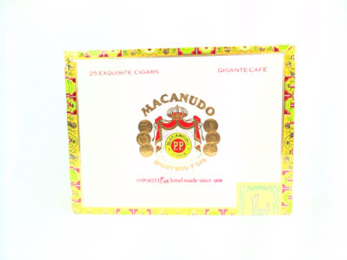 Macanudo Cigars Cafe Gigante 25 Ct. Box 6.00X60