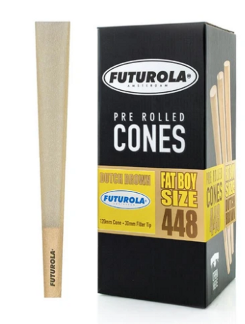 Futurola Cones Fatboy Dutch Brown 448ct