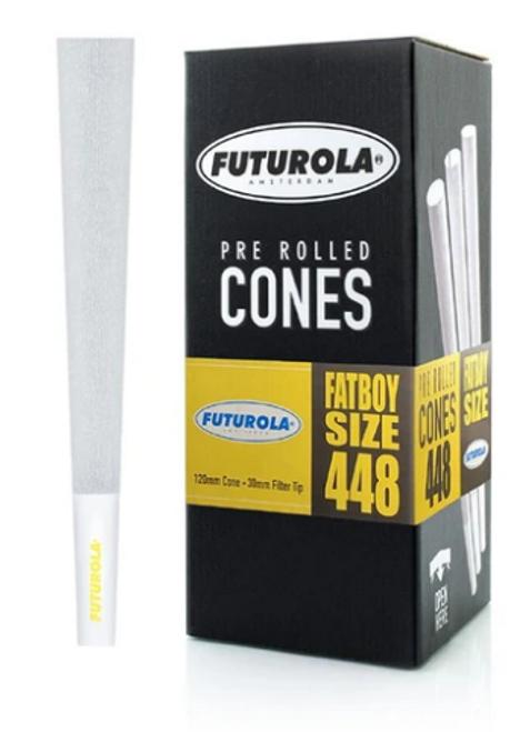 Futurola Cones Fatboy Classic White 448ct