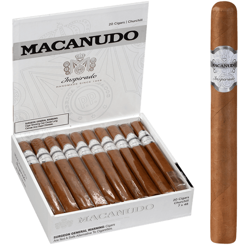 Macanudo Cigars Inspirado White Churchill 20 Ct. Box 7.00X48