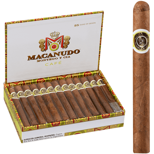 Macanudo Cigars Cafe Duke Of Devon 25 Ct. Box 5.50X42