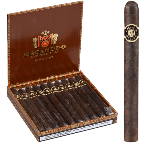 Macanudo Cigars Maduro Prince Philip 10 Ct. Box 7.50X49