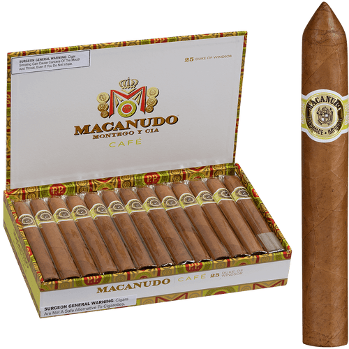 Macanudo Cigars Cafe Duke Of Windsor 25 Ct. Box 6.00X50