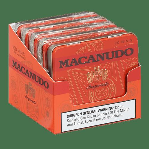 Macanudo Cigars Inspirado Orange Minis 5/20 Ct. Tins 3.00x20