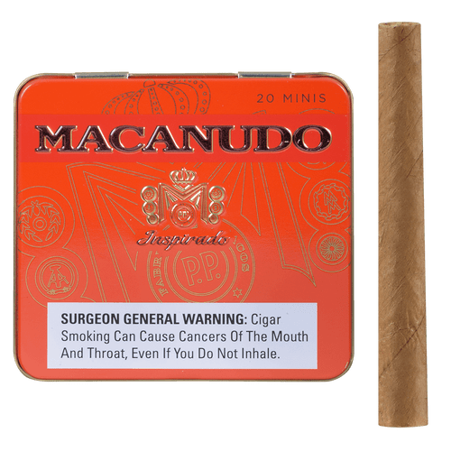Macanudo Cigars Inspirado Orange Minis 5/20 Ct. Tins 3.00x20