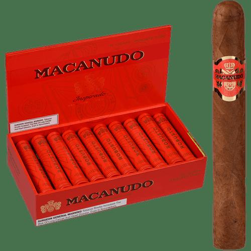 Macanudo Cigars Inspirado Orange Tubo 20 Ct. Box 5.50X50