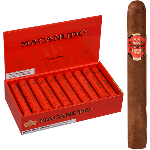 Macanudo Cigars Inspirado Orange Tubo 20 Ct. Box 5.50X50