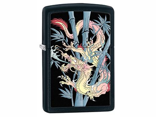 Zippo PK Collection Bamboo Dragon Lighter