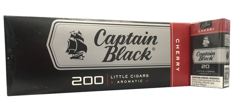 Captain Black Little Cigars Sweet Cherry