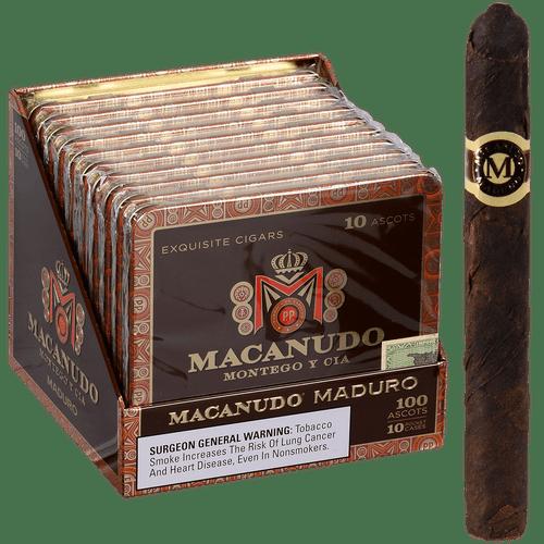 Macanudo Cigars Maduro Ascots 10/10 Tins 4.19X32