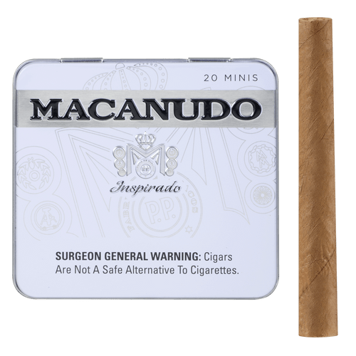 Macanudo Cigars Inspirado White Minis 5/20 Ct. Tins 3.00x20