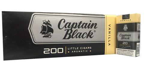 Captain Black Little Cigars Madagascar Vanilla