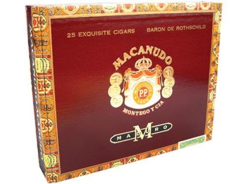 Macanudo Cigars Maduro Baron De Rothschild 25 Ct. Box 6.50X42