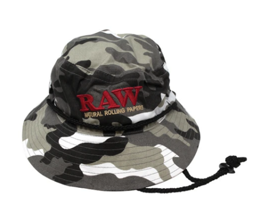 Raw Smokermans Bucket Hat Camo