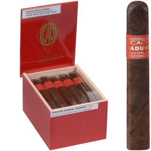 CAO Cigars L'Anniversaire Maduro Toro 20 Ct. Box 5.50X55