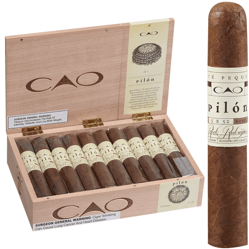 CAO Cigars Pilon Robusto Extra 20 Ct. Box 5.00X52
