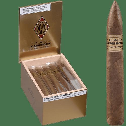 CAO Cigars L'Anniversaire Cameroon Belicoso 20 Ct. Box 6.00X54
