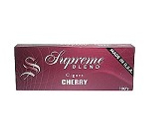 Supreme Blend Filtered Cigars Cherry