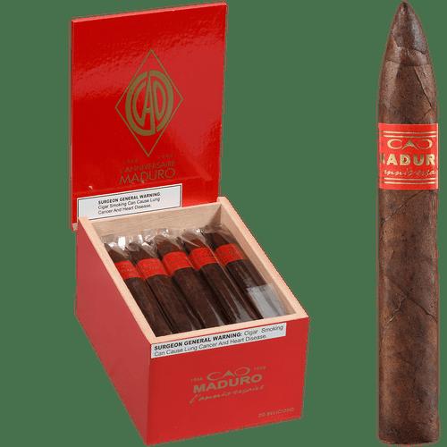 CAO Cigars L'Anniversaire Maduro Belicoso 20 Ct. Box 6.00X54