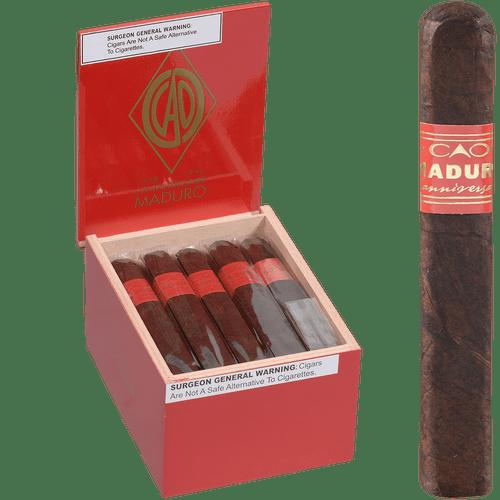 CAO Cigars L'Anniversaire Maduro Robusto 20 Ct. Box 5.00X50