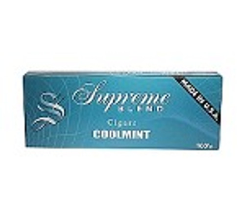 Supreme Blend Filtered Cigars Cool Mint